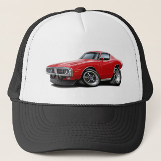 1973-74 Charger Red Car Trucker Hat