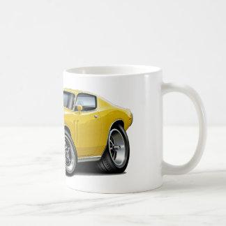 1973-74 Charger Yellow Car Coffee Mug