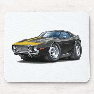 1973-74 Javelin Black-Gold Car Mouse Pad