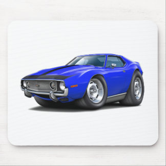 1973-74 Javelin Blue-Black Car Mouse Pad