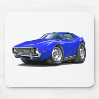 1973-74 Javelin Blue Car Mouse Pad