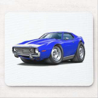 1973-74 Javelin Blue-White Car Mouse Pad