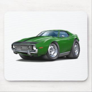 1973-74 Javelin Green-Black Car Mouse Pad