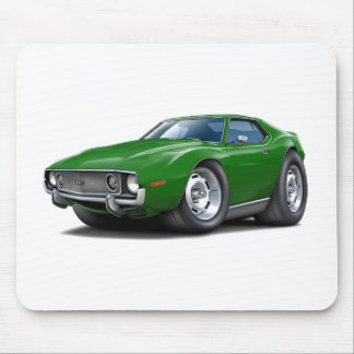 1973-74 Javelin Green Car Mouse Pad