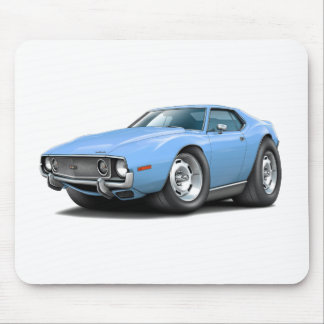 1973-74 Javelin Lt Blue Car Mouse Pad