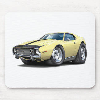 1973-74 Javelin Lt Yellow-Black Car Mouse Pad
