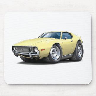 1973-74 Javelin Lt Yellow Car Mouse Pad