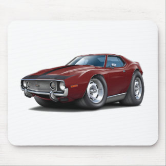 1973-74 Javelin Maroon-Black Car Mouse Pad