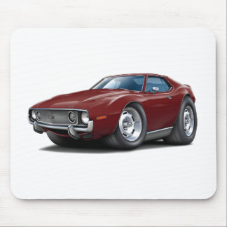 1973-74 Javelin Maroon Car Mouse Pad