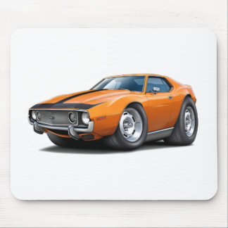 1973-74 Javelin Orange-Black Car Mouse Pad