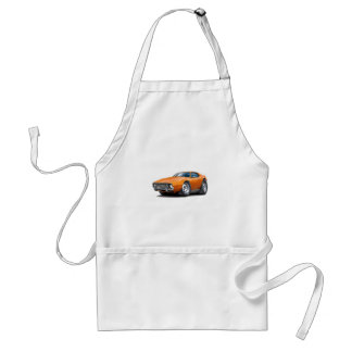 1973-74 Javelin Orange Car Adult Apron