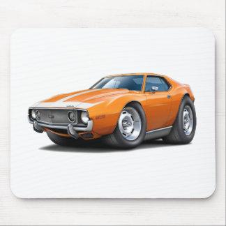 1973-74 Javelin Orange-White Car Mouse Pad
