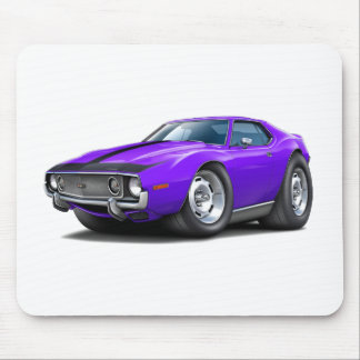 1973-74 Javelin Purple-Black Car Mouse Pad