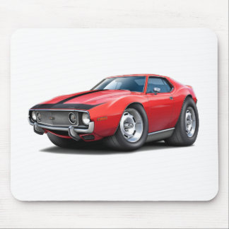 1973-74 Javelin Red-Black Car Mouse Pad