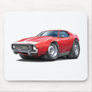 1973-74 Javelin Red-White Car Mouse Pad