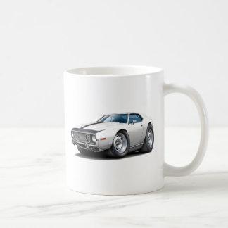 1973-74 Javelin White-Black Car Coffee Mug