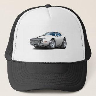1973-74 Javelin White-Black Car Trucker Hat