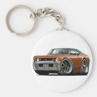 1973-74 Nova Brown-Black Top Keychain