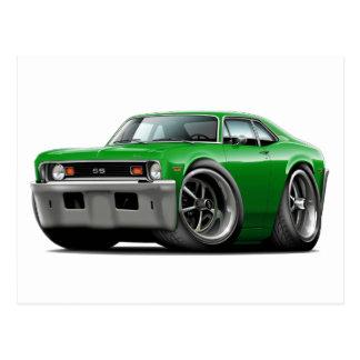 1973-74 Nova Green Car Postcard