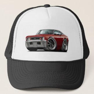 1973-74 Nova Maroon-Black Top Trucker Hat