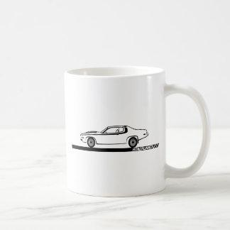 1973-74 Roadrunner Black Car Coffee Mug