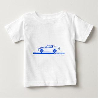 1973-74 Roadrunner Blue Car Baby T-Shirt