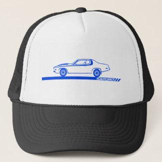1973-74 Roadrunner Blue Car Trucker Hat