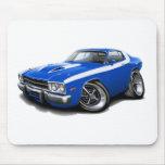 1973-74 Roadrunner Blue-White Car Mouse Pad