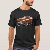 1973-74 Roadrunner Bronze-White Car T-Shirt