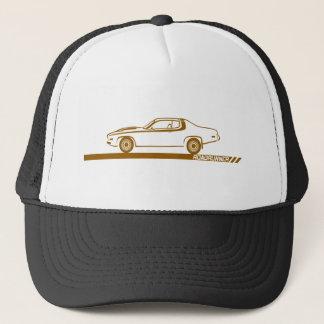 1973-74 Roadrunner Brown Car Trucker Hat