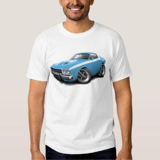 1973-74 Roadrunner Lt Blue-White Car T Shirt