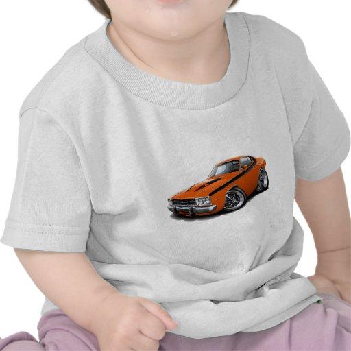 1973-74 Roadrunner Orange-Black Car Tee Shirts