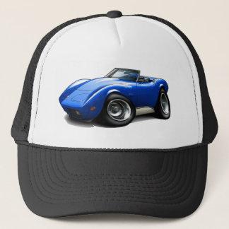 1973-76 Corvette Blue Convertible Trucker Hat