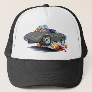 1973-76 Corvette Grey Convertible Trucker Hat