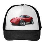 1973-76 Corvette Red Car Mesh Hats
