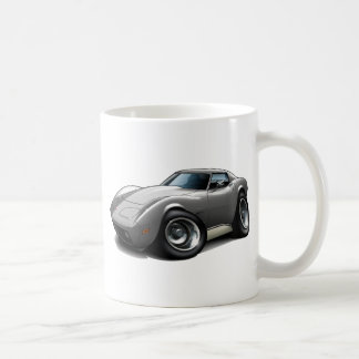 1973-76 Corvette Silver Car Mugs