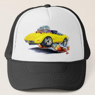 1973-76 Corvette Yellow Convertible Trucker Hat