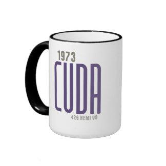 1973 Barracuda - Violet Ringer Mug