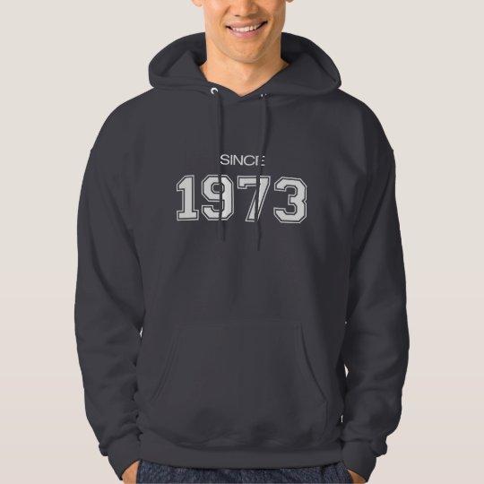 1973 birthday gift idea hoodie