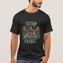 1973 Custom Garage Vintage Style Muscle Car T-Shirt