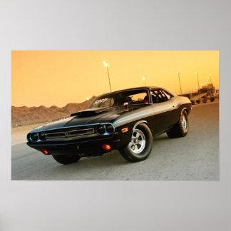 1973 Dodge Challenger Print