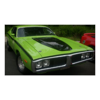 1973 Dodge Charger Poster
