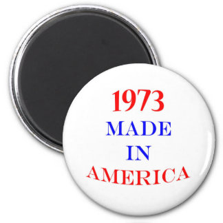 1973 Made in America 2 Inch Round Magnet