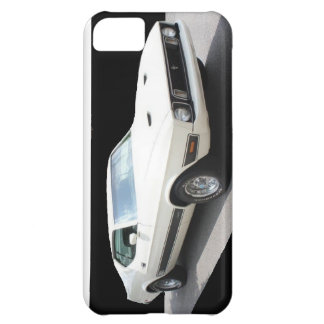 1973 Mustang Mach I (car is White w/Black Stripes) iPhone 5C Cover