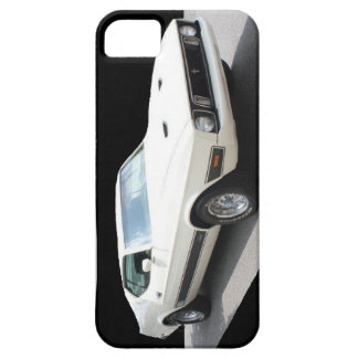 1973 Mustang Mach I (car is White w/Black Stripes) iPhone SE/5/5s Case