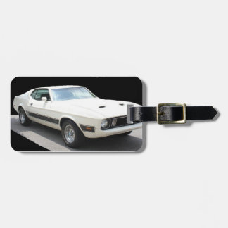 1973 Mustang Mach I - LuggageTag Tag For Luggage