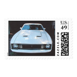 1973 Mustang Mach I stamps