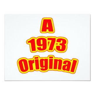 1973 Original Red Card