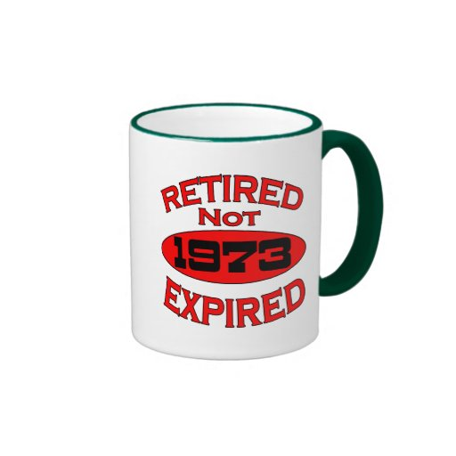 1973 Retirement Year Mug