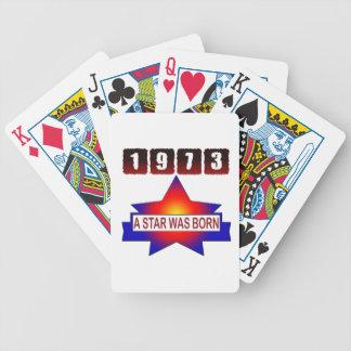 1973 una estrella nació baraja cartas de poker